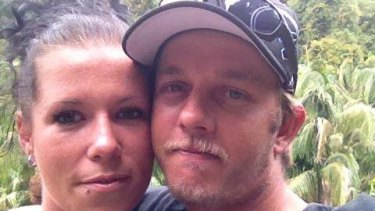 Toowoomba couple Jacinta Foulds (left) and husband Daniel (right). They had three children together.