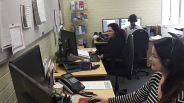 WA's few free financial counsellors answering calls at the helpline office.