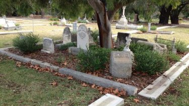Mr Edwards is alleged to have raped a teenager at Karrakatta Cemetery in 1995.