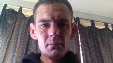 Clinton Pollock, shot dead north of Brisbane on Sunday night.