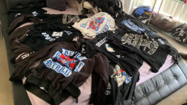 OMCG clothing was found during the raid.