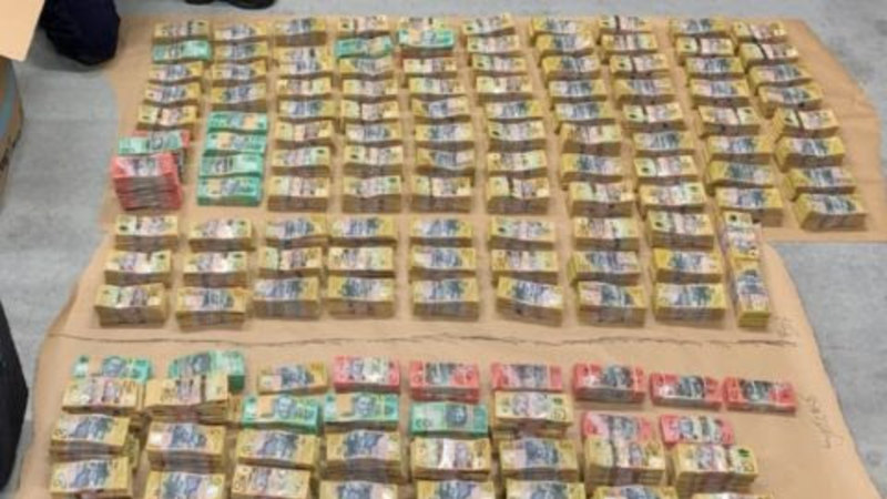 Police discover more than $4 million in car during M1 intercept