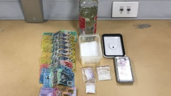 Pair charged after police find $60,000 in party drugs