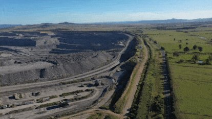Hunter coal miners don't have enough funds for land rehabilitation