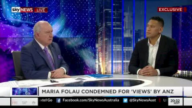 Alan Jones' commentary is widely watched on social media.