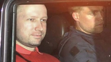 Norwegian right-wing terrorist and mass murderer Anders Behring Breivik.