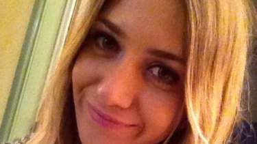 The body of Courtney Herron was found in Royal Park on Saturday.