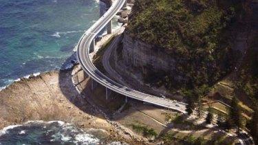 The Sea Cliff Bridge in Clifton.