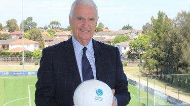 Football NSW board member Stefan Kamasz.