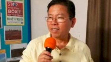 Australian citizen Chau Van Kham has reportedly been detained in Vietnam.
