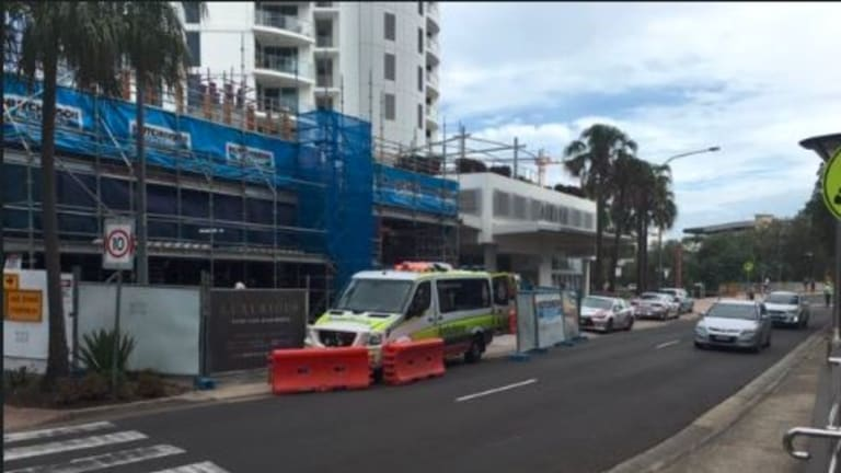 A 56-year-old man has died in a workplace accident on the Sunshine Coast.