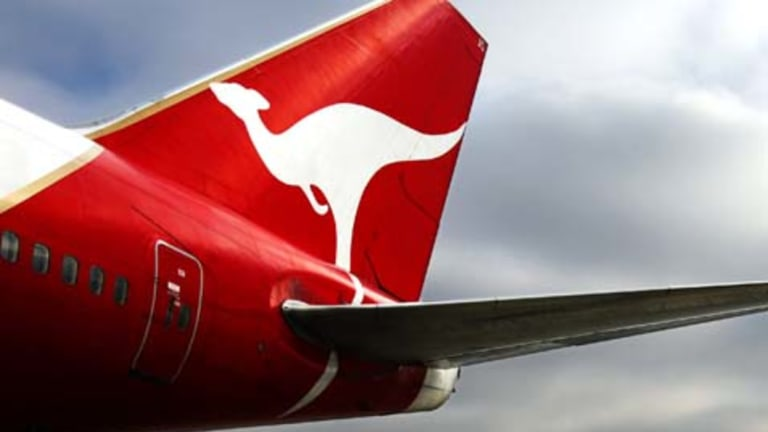 A Qantas flight from Sydney bound for Chile was forced to turn back overnight due to engine trouble.