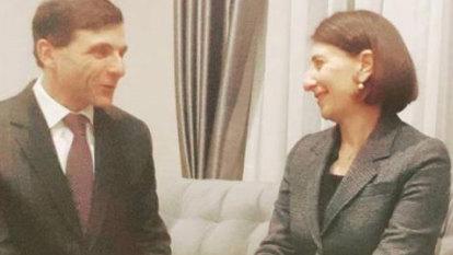 NSW Premier Gladys Berejiklian dating high-profile lawyer Arthur Moses