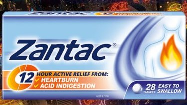 Zantac is also sold in supermarkets and pharmacies in Australia.