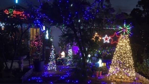 Vandals trash iconic Christmas lights display at Ballajura family home