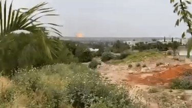 The missile strike near Israel's reactor.