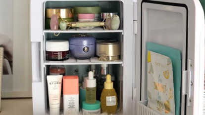 The skincare fridge is a next-level beauty must-have