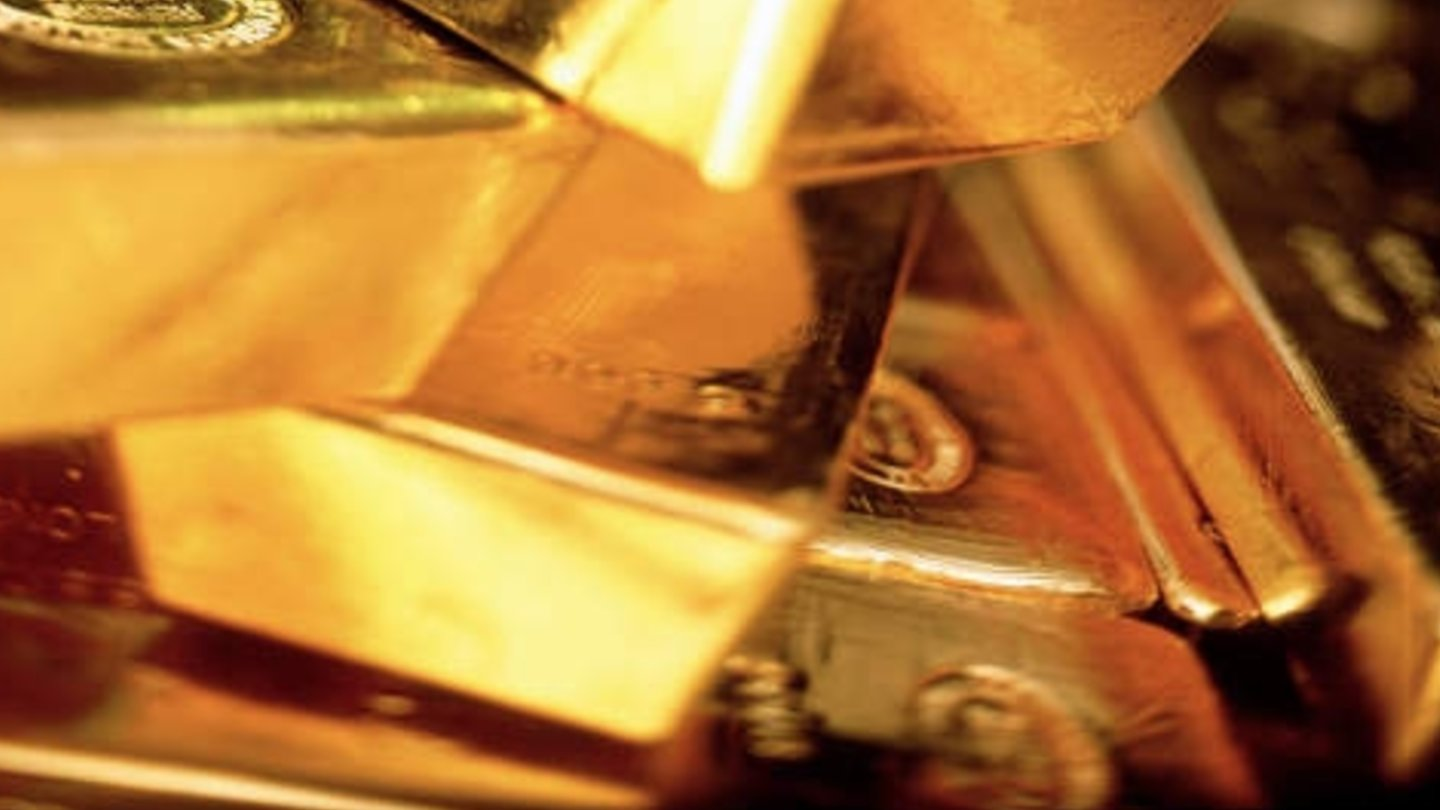 Gold bars were used as collateral.