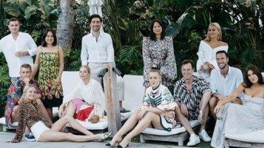 Sydney 'cool kids' takeover Miami for Nadia's 30th birthday celebrations.