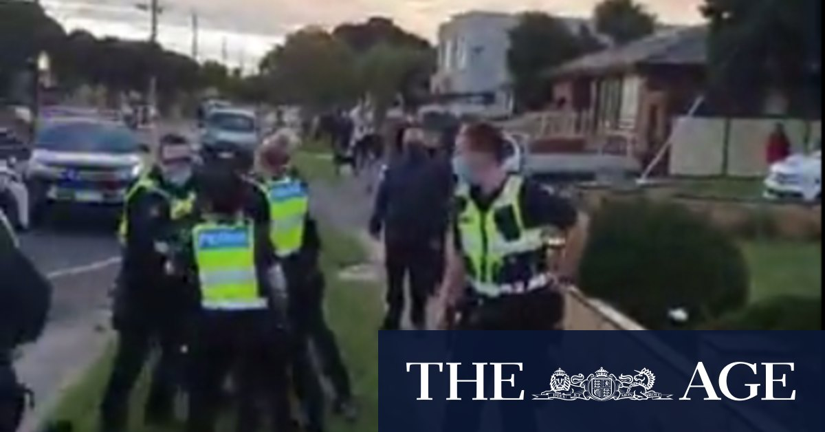 Victoria's police chief 'absolutely concerned' about anti-lockdown protesters – The Age