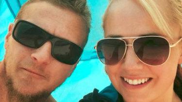 Dale Ewins and Zita Sukys.