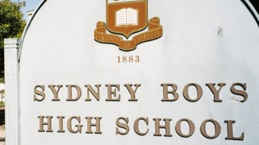 Sydney Boys High School has one of the highest annual contributions of $2517 for a year 10 to 12 student in 2019