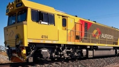 Profit down for rail freight operator Aurizon, buyback announced