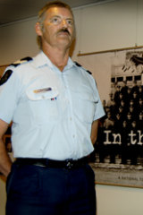 Sergeant Ron Fenton. In 1984, the then-Senior Constable was shot in the head while apprehending an armed gunman in Beaumaris. Photo: Police Media