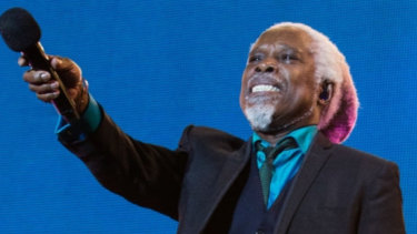 Billy Ocean performing in 2019.