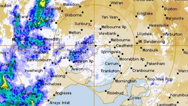 A series of cold fronts are moving through Victoria