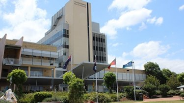 A security guard will be stationed at Toowoomba Hospital's acute mental health unit while the incident is investigated.