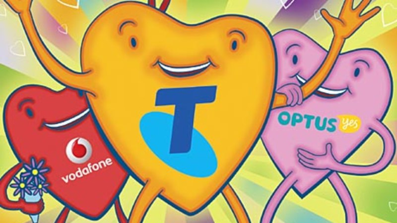 Telstra, Vodafone and Optus 4G Sydney and Melbourne download