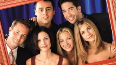 The cast of Friends in their heyday.