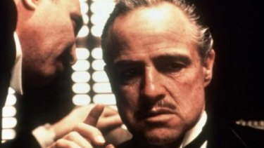 Masterpiece: Marlon Brando in The Godfather.