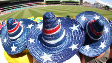 Fans wear will be able to return to watch live cricket under the easing of restrictions.