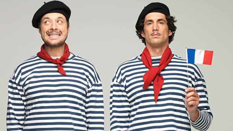 Hamish and Andy have been taking gap years well into their 30s.