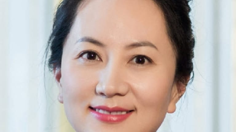 Meng Wanzhou, daughter of Huawei's founder Ren Zhenfei.