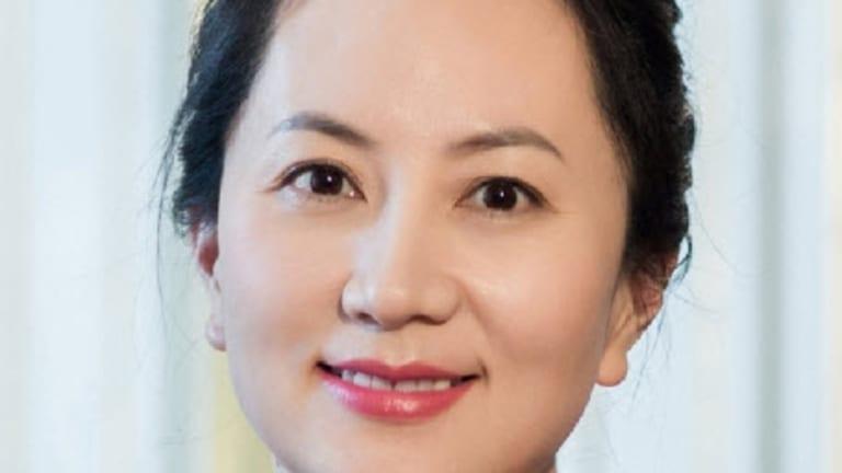 Meng Wanzhou, daughter of Huawei's founder Ren Zhenfei.