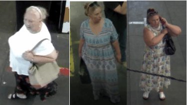 Police wish to speak to these women in relation to the scam.