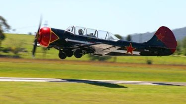 FILE IMAGE: Yak-52 aircraft were previously used as advanced Russian military training planes.
