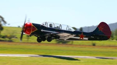 FILE IMAGE: Yak-52 aircraft were previously used as an advanced Russian military training planes.