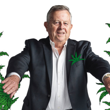 At 73, Barry Lambert listed his cannabis company Ecofibre on the Australian Stock Exchange.