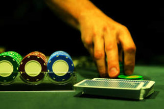 Most underage gambling involved informal games, such as poker.
