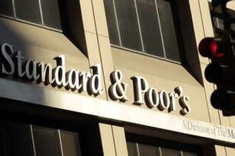 Ratings agency Standard and Poor's has issued a warning on Victoria's credit standing.