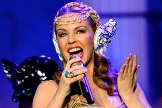 A Sussan employee says he was traumatised after being coerced into performing with a Kylie Minogue impersonator.