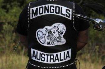 Mongols patch.
