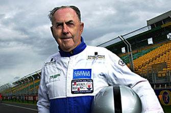 Jack Brabham at the Albert Park Grand Prix track.