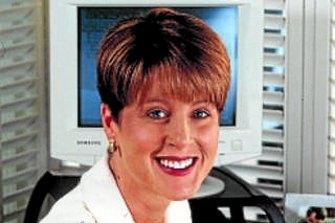 Simone Semmens was a Channel 7 newsreader.