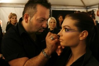 He was one of the world's top 10 make-up artists, with shows at New York Fashion Week, his own program on The Discovery Channel and an exclusive partnership with the Primetime Emmys.