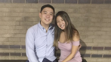 Inyoung You, 21, right, and her boyfriend, Alexander Urtula, 22, left.